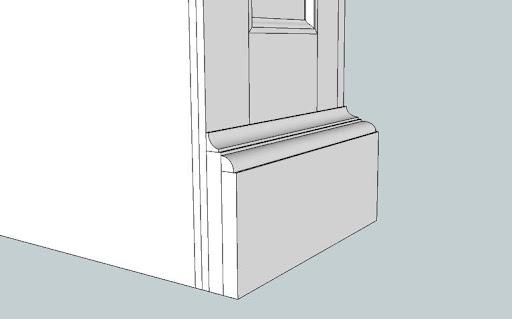 low profile bookcase plans