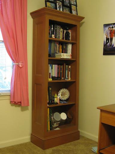 build wood bookcase plans