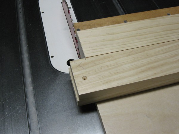 I use the first board (closest to the blade) as a guide for marking the length of the remaining boards.