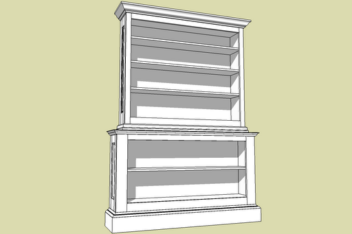 fine woodworking bookshelf plans
