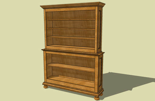 Fine Woodworking 18 Bookcase Plans Collection, May... - Amazing Wood ...