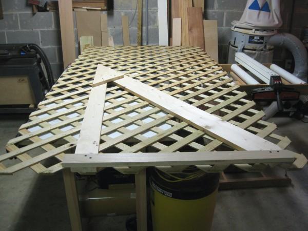 Cutting the lattice