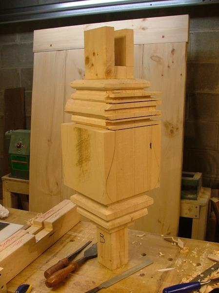 Pedestal During Construction