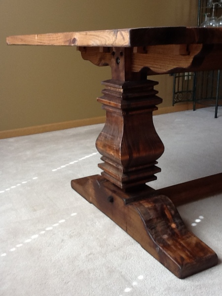 Tom Baker Table Pedestal