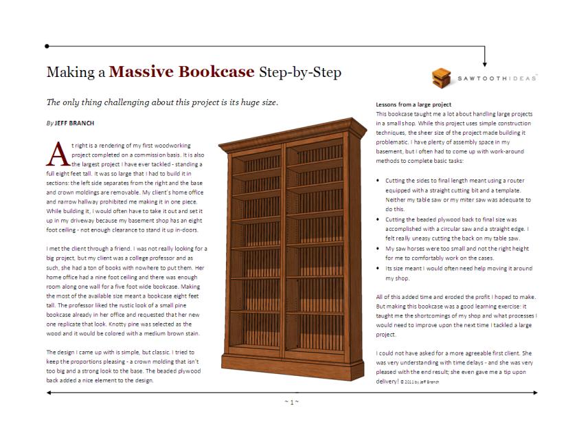 Massive Bookcase, page 1