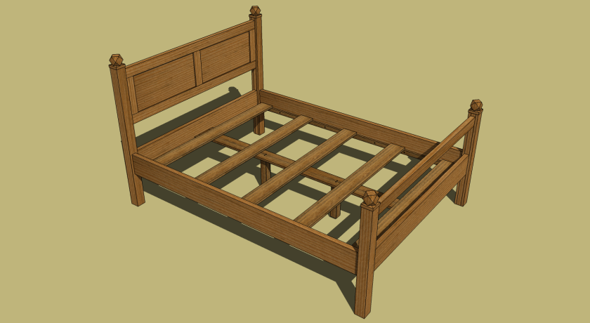 Image of queen size bed