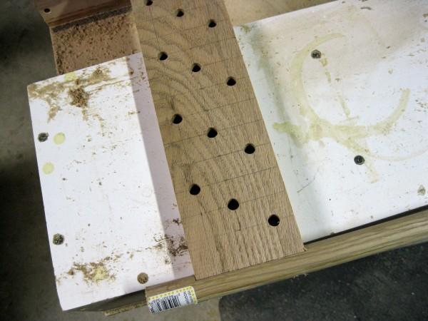Extenders drill pattern