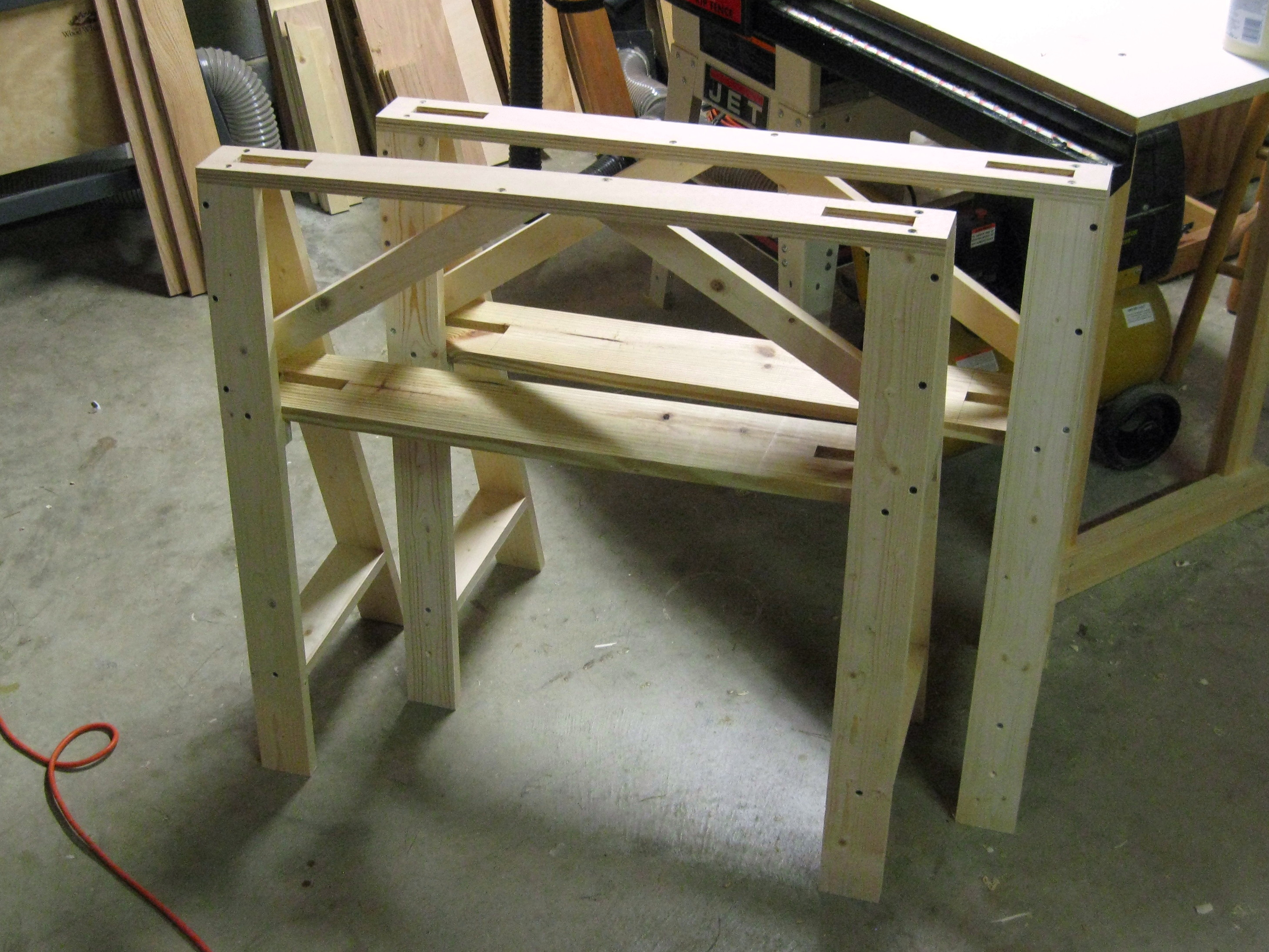 Download Plans For Sawhorse Plans Diy Tree House Layouts