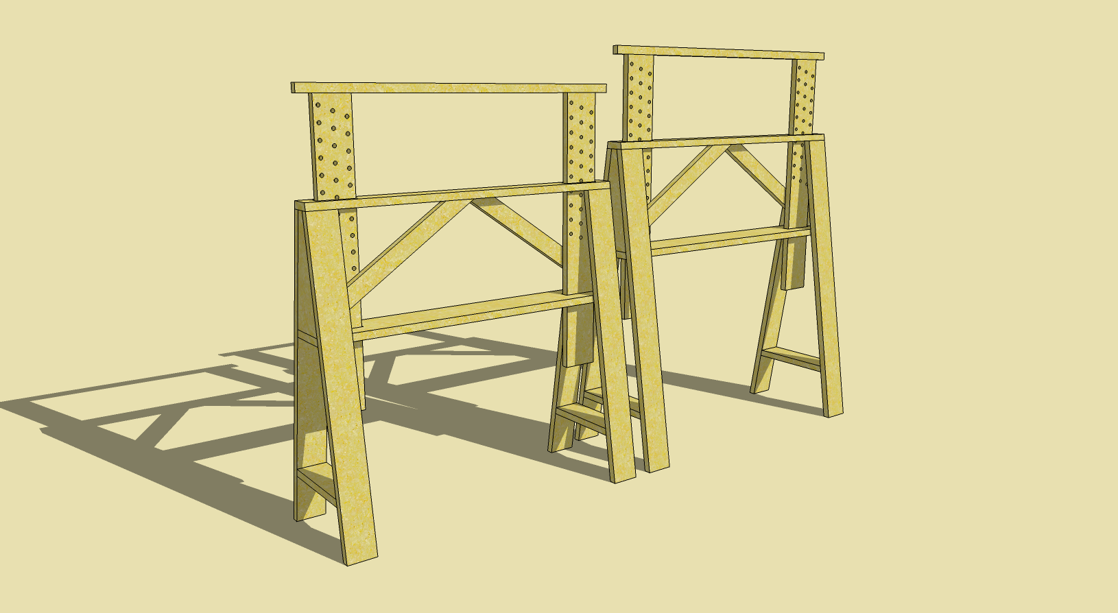 Adjustable Sawhorse Plans Free