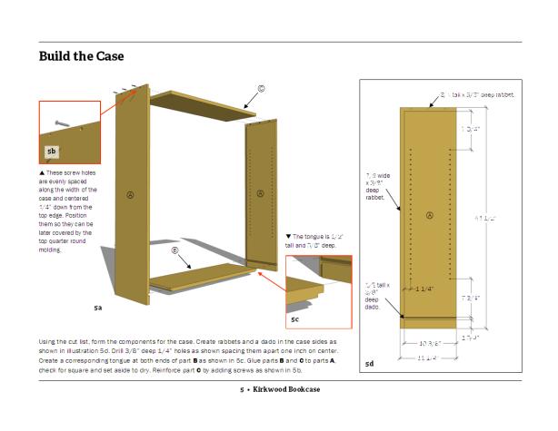 Build Fine Woodworking Bookcase Plans DIY PDF ebony ...