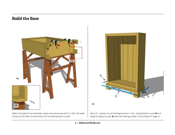 Build Fine Woodworking Bookcase Plans DIY PDF ebony plywood ...