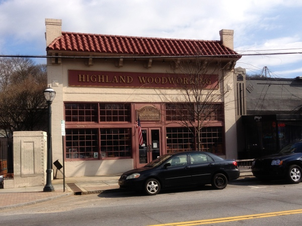 Highland Woodworking in Atlanta, Georgia - site of the Lie Nielsen Hand Tool Event.