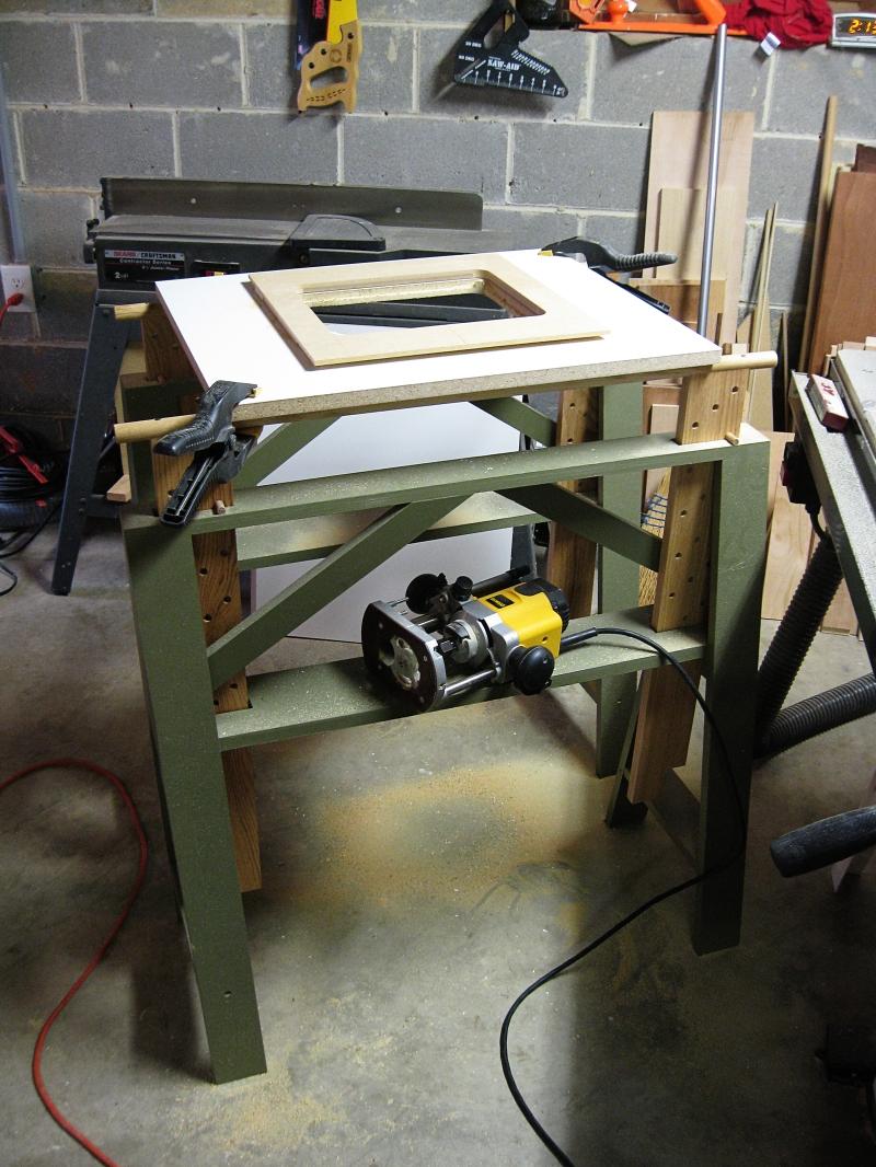 wood sawhorse