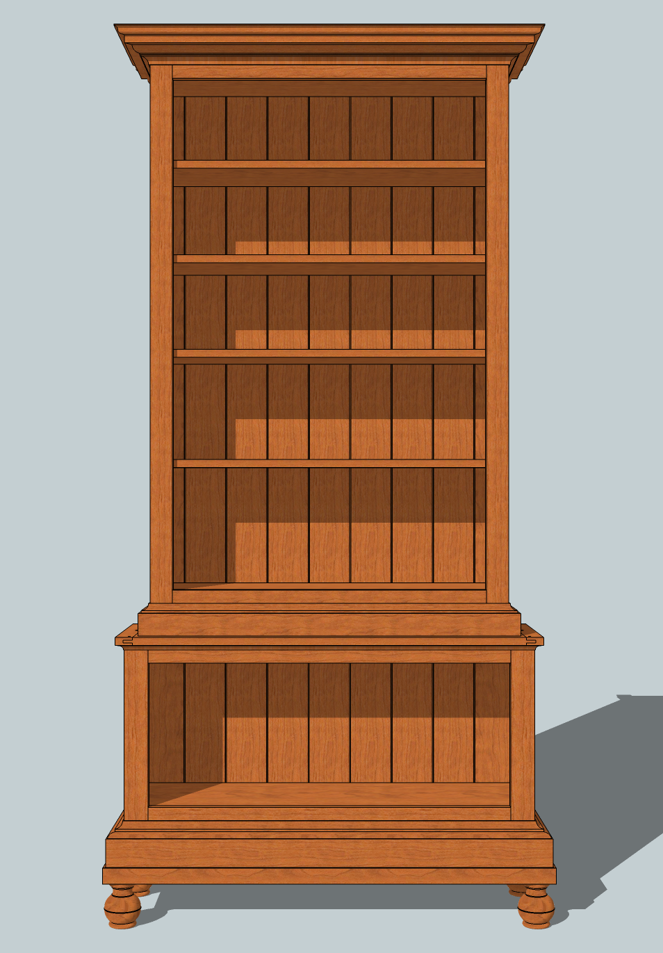 pdf diy bookshelf blueprint plans download bookshelf