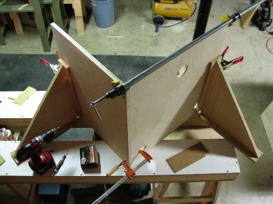 Miter Saw Stand Creating the Base
