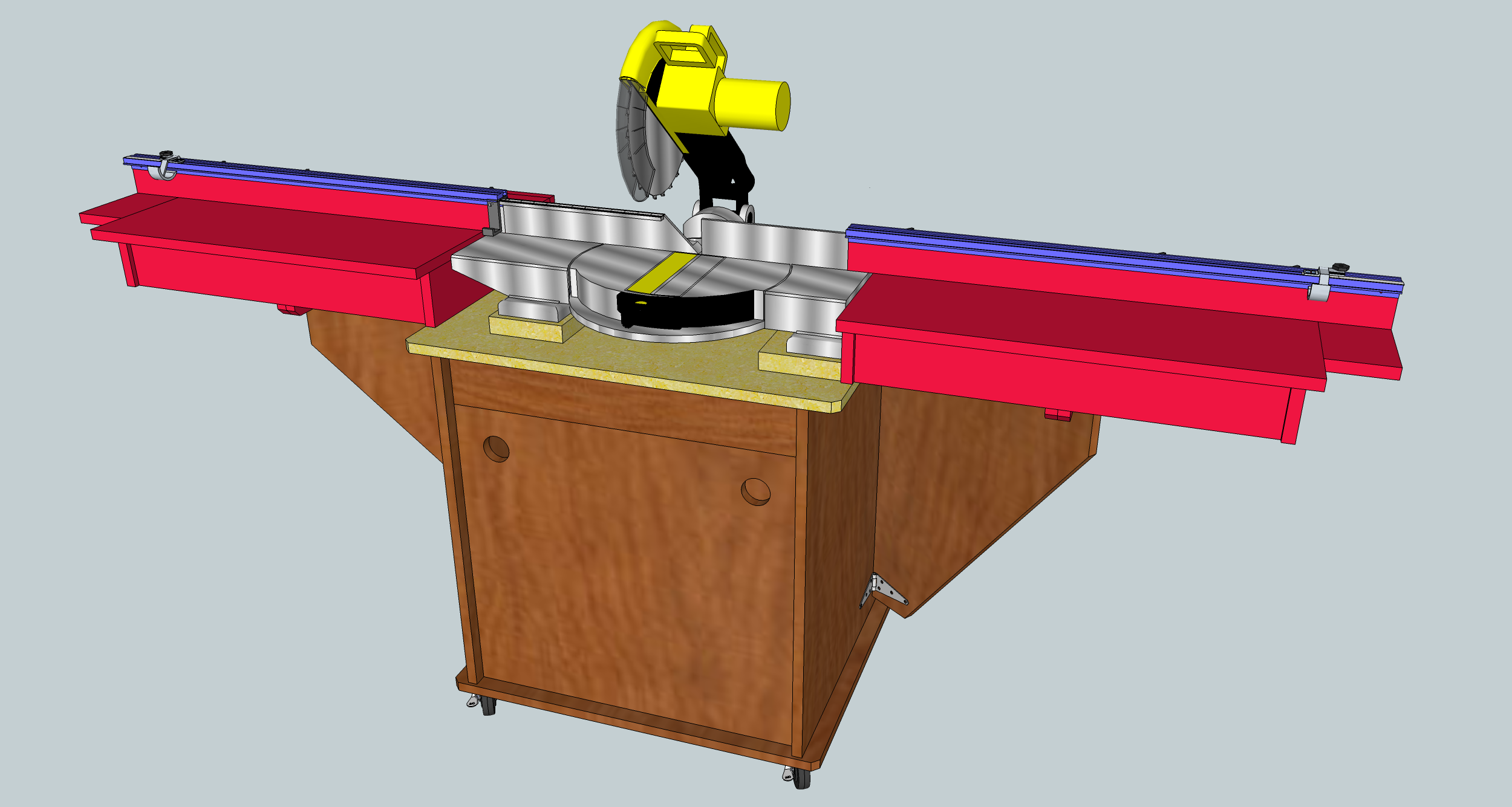 Miter Saw Stand – Getting Started | Jeff Branch Woodworking
