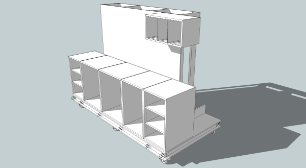 My current SketchUp model.