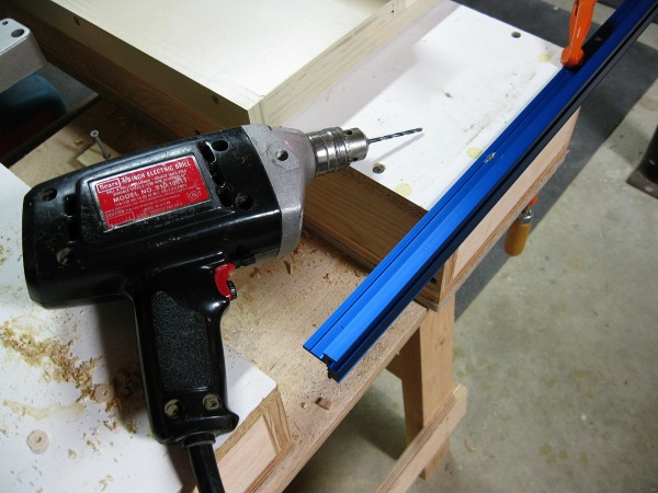Still using my corded drill.