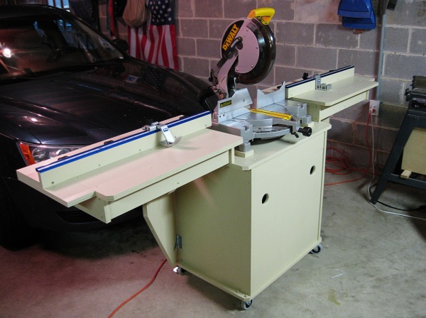 My miter saw ready for flight.