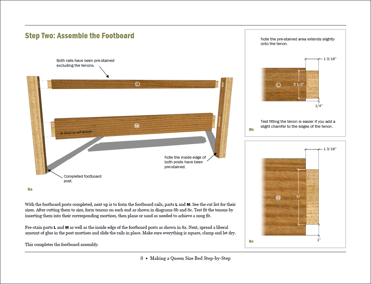 Build woodworking plans queen size bed diy pdf shaker for Shaker bed plans