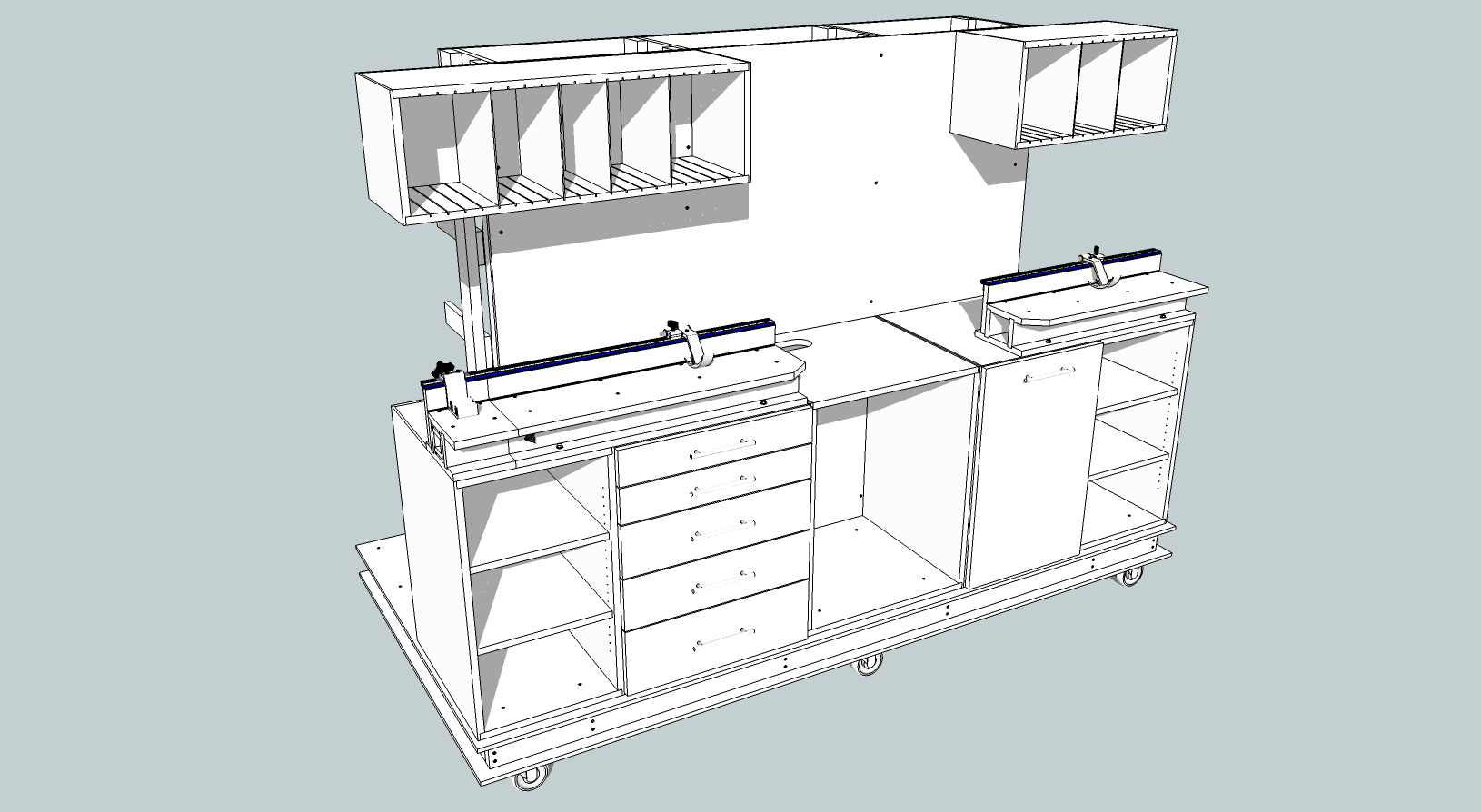 Diy woodworking sketchup pdf download diy built in for Table design sketchup