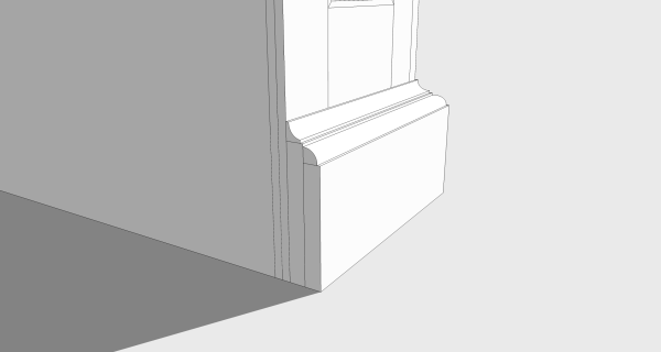 I have been contemplating how to add the lower base board.