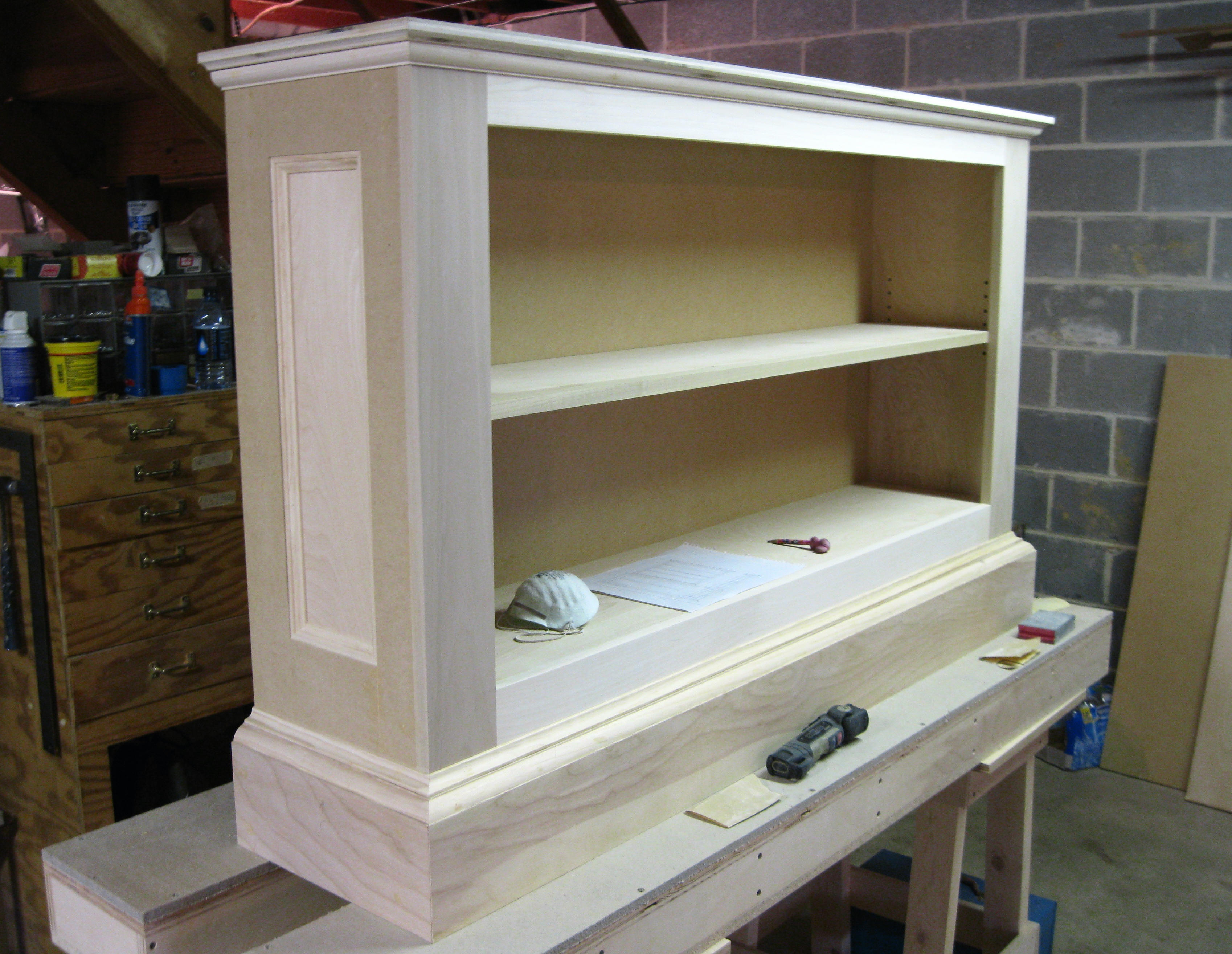 custom bookshelf for a how cabinets bookcases with build to bookcase base cabinet