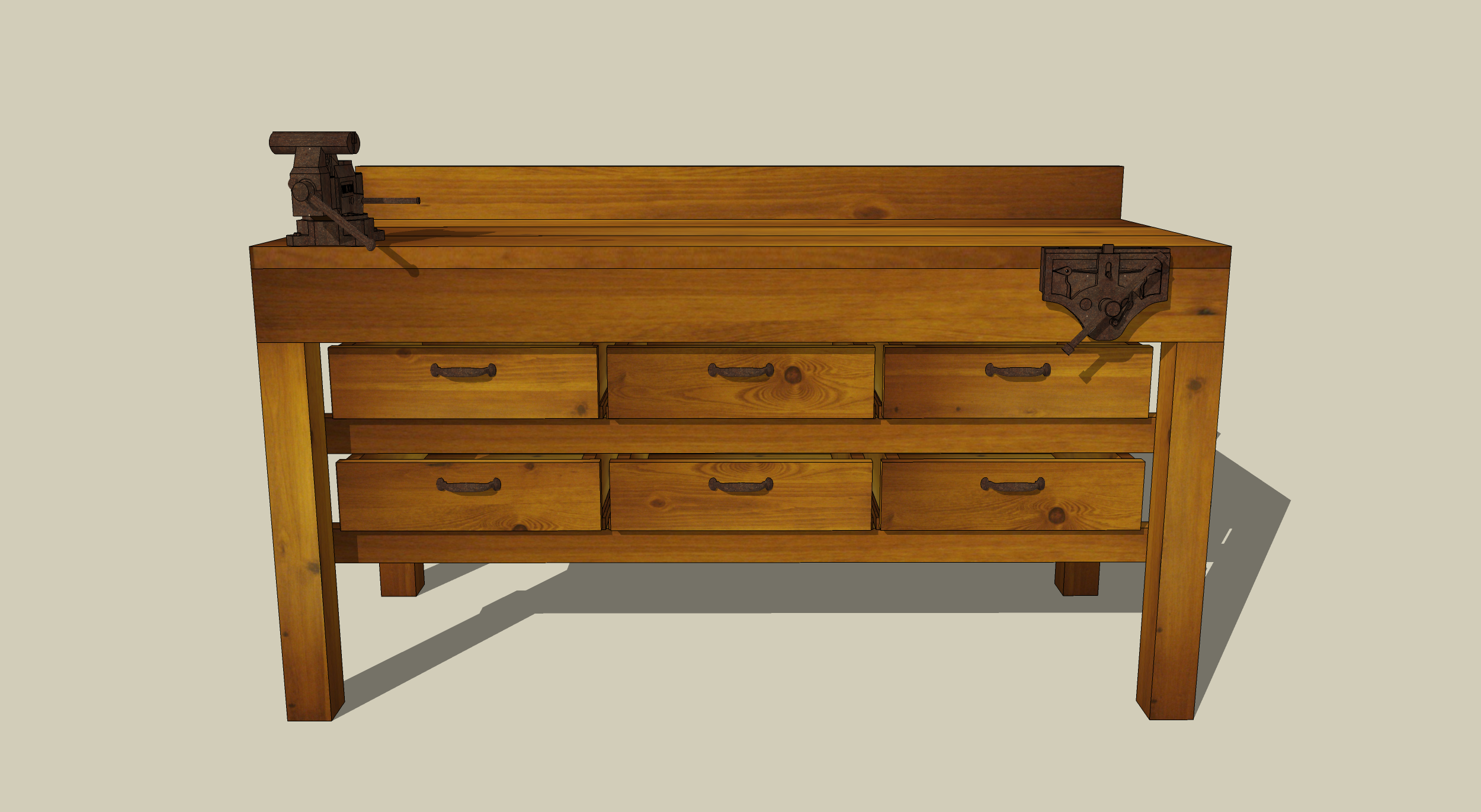 Wooden workbench with drawers plans free download windy soj