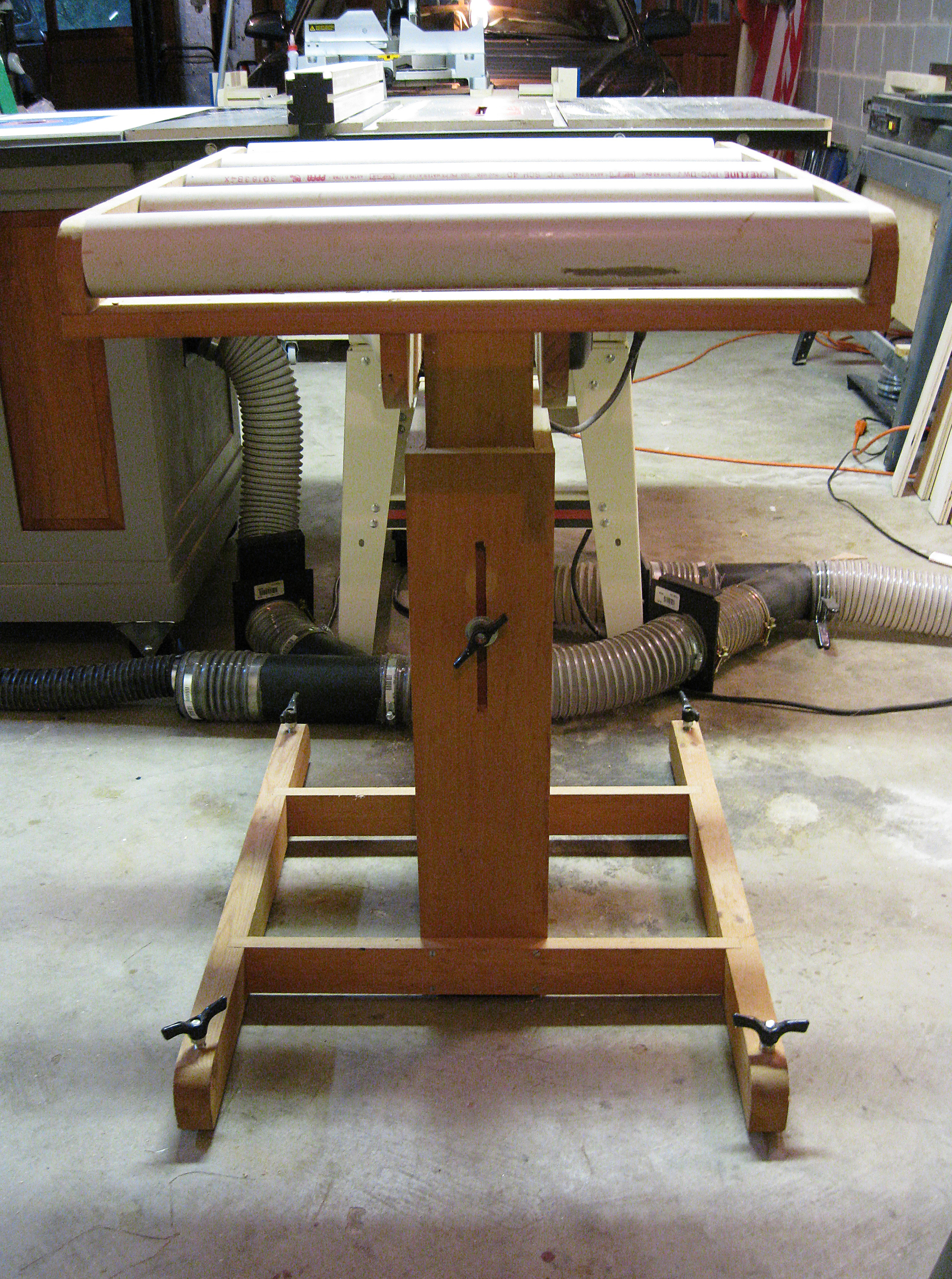My Table Saw Roller Stand Jeff Branch Woodworking