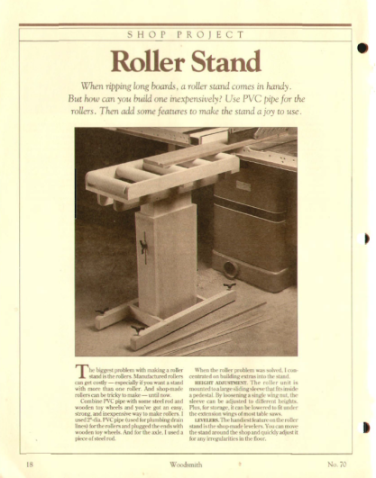 Roller Stand 1