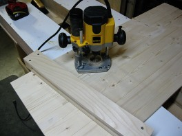 I use a jig to help form the tenon.