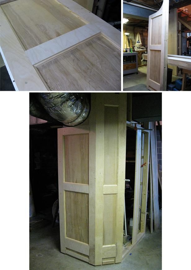 Panels 1 and 2; basic construction completed.