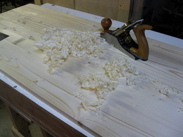 The most fun I have had with a hand plane.