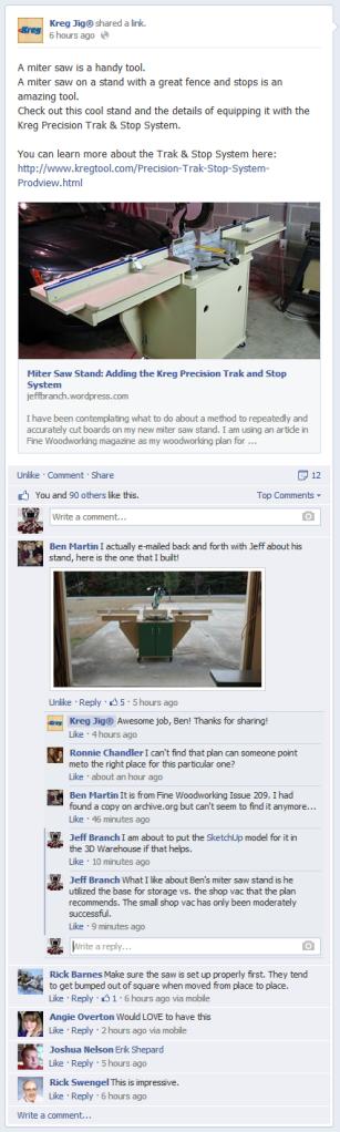 Kreg Jig FB Status Update