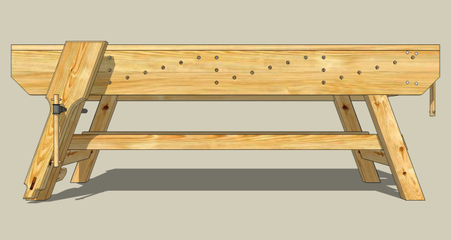 Want a New Workbench | Jeff Branch Woodworking