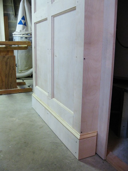 The completed baseboard.