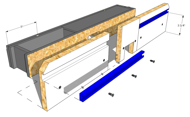complete router table woodworking plan