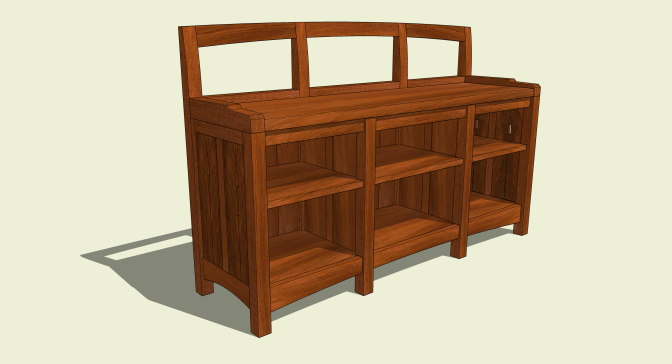 Low Bookcase 033114