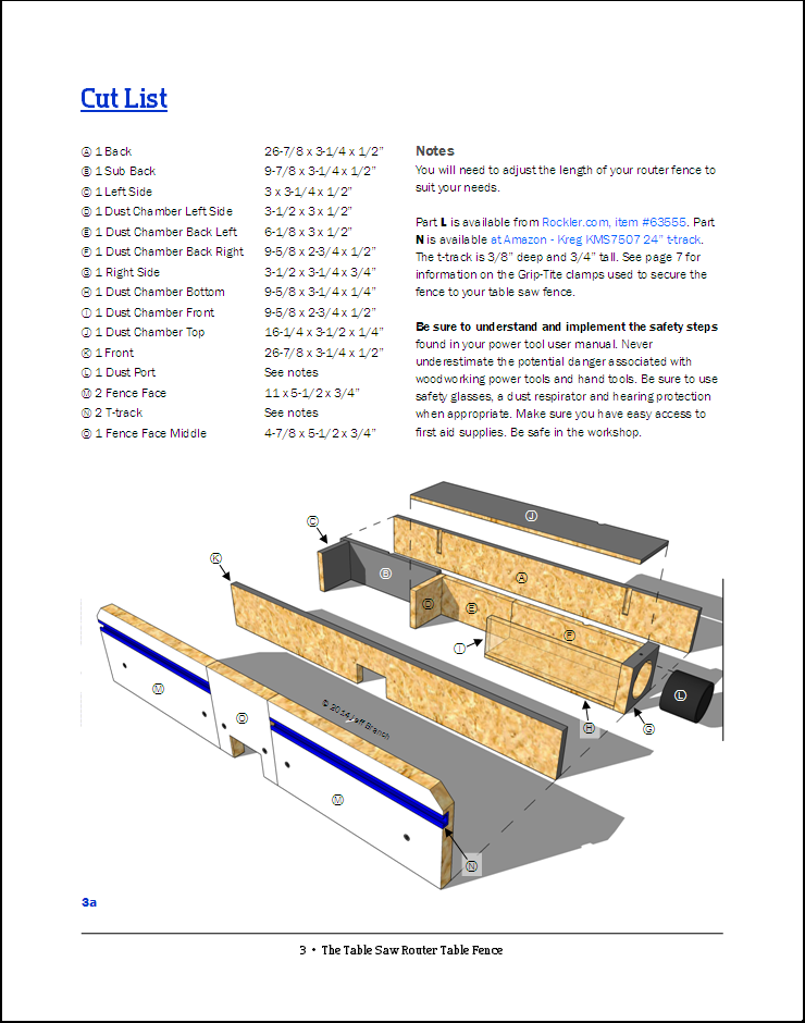 The table saw router fence page 3 jeff branch woodworking for Things you can do with a router table