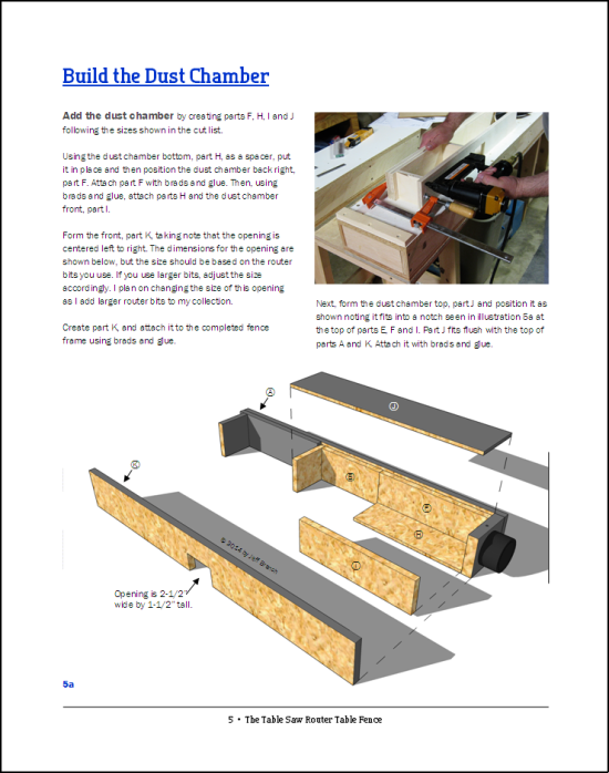 The Table Saw Router Fence Page 5 | Jeff Branch Woodworking