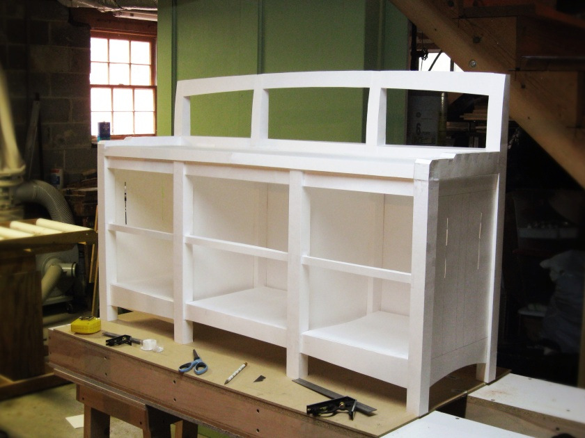 The window seat bookcase full size.