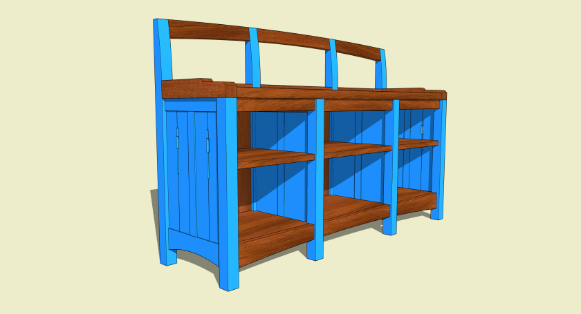 Low Bookcase 033114b