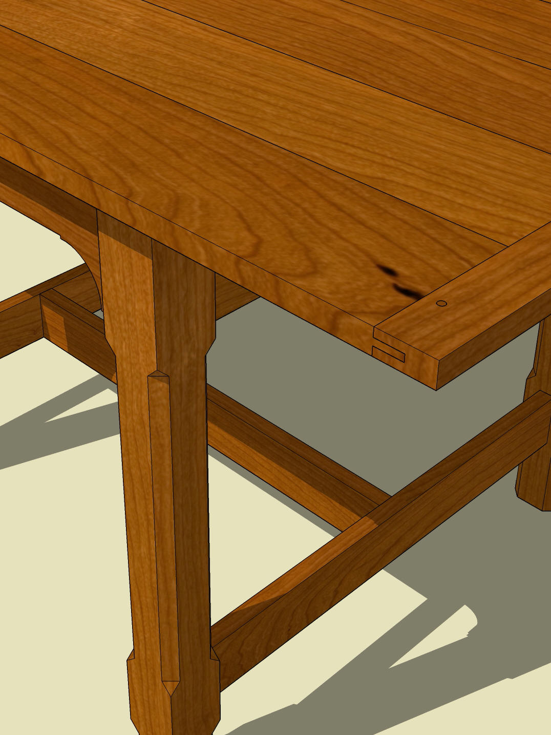 Wooden woodworking plans square dining table pdf plans for Dining table plans woodworking free