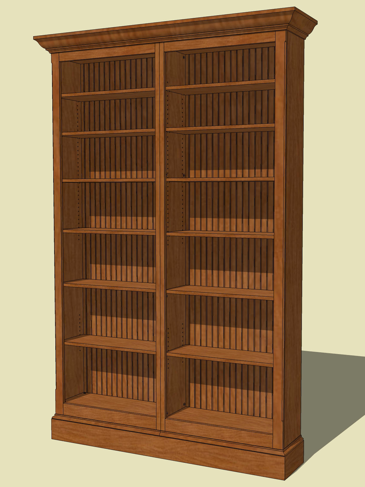 My SketchUp Models | Jeff Branch Woodworking