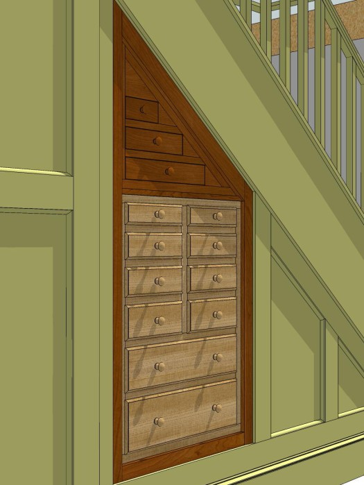 Proposed tool cabinet.