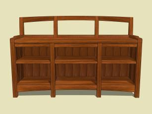 Window Seat Bookcase 3