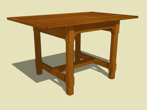 Apartment Dining Table4