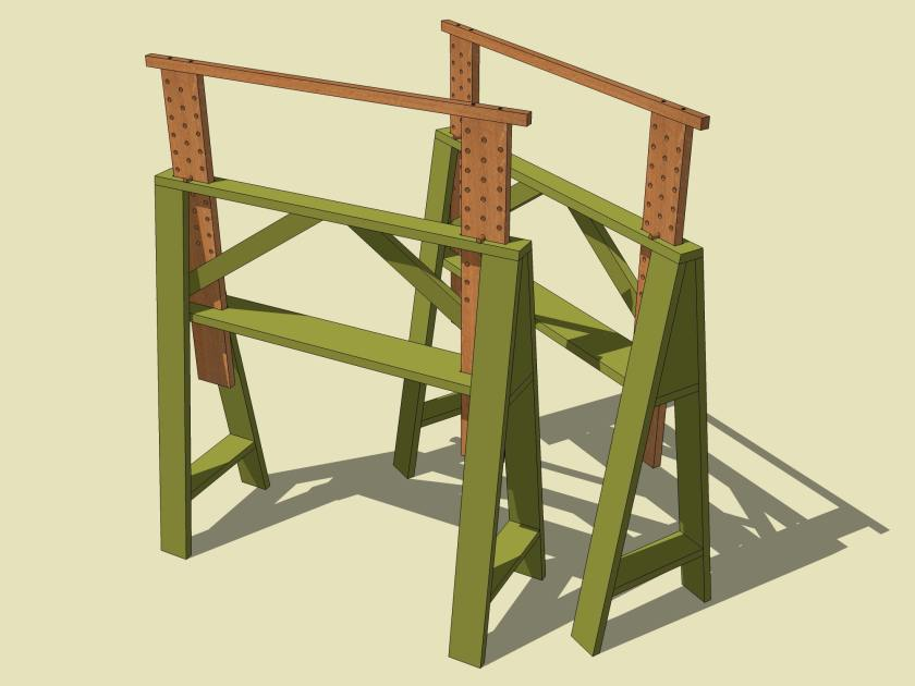 Becksvoort Tall Sawhorses 090614a