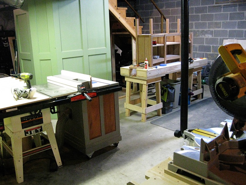 My space: the workshop.