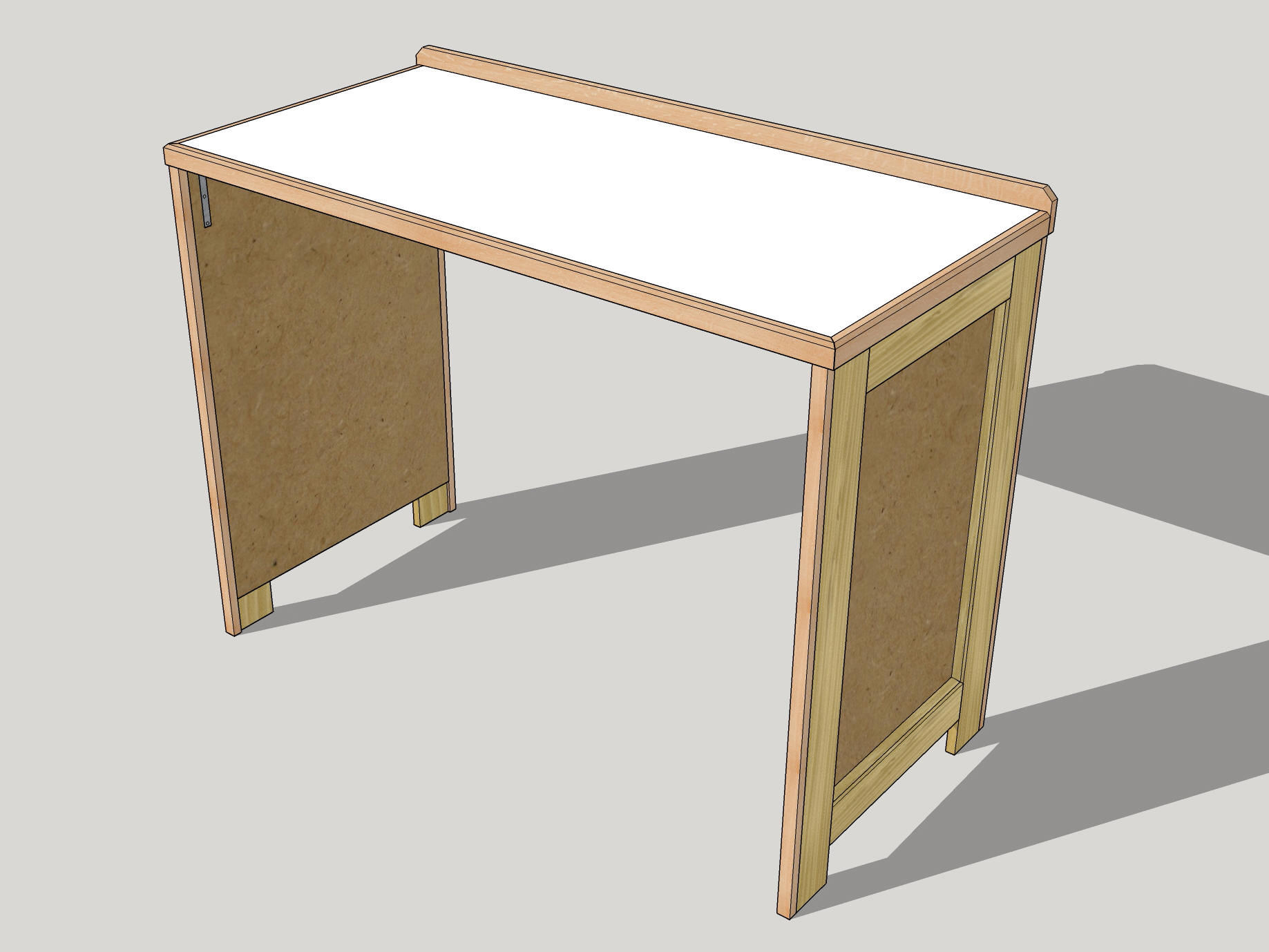 The Table With No Back.